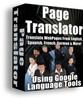 Web Page Language Translator