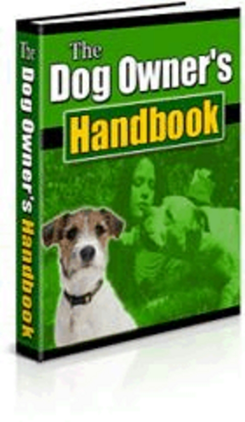 Product picture Dog Owners Training Manual