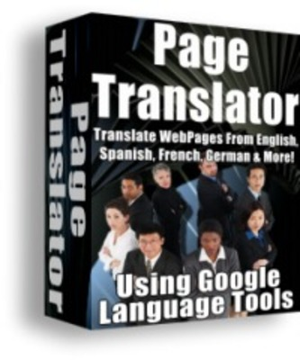 Product picture Web Page Language Translator